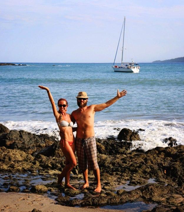Ballena beach_Neil & Jessie2