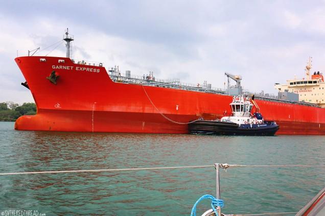 #Panama Canal_Garnet Express