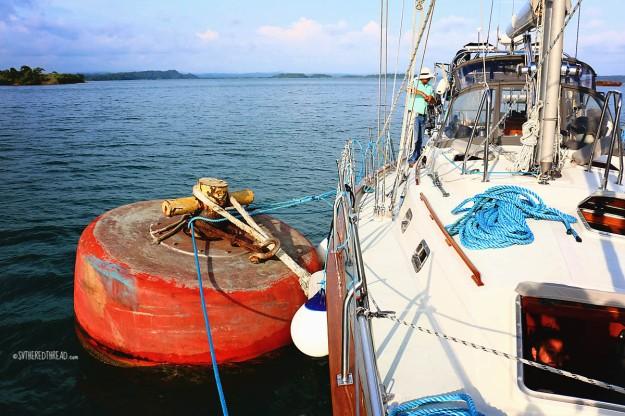 #Panama Canal_Gatun buoy