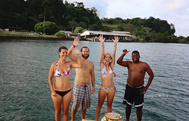 #Panama Canal_Lake Gatun swim