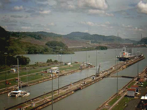 #Panama Canal_Meridian in the Canal