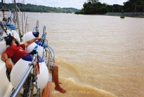 #Panama Canal_Neil snoozing