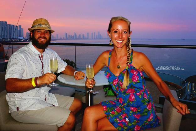 #Panama City_Champagne happy hour