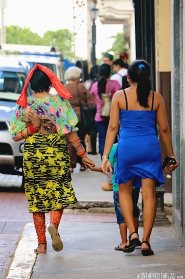 #Panama City_Kuna woman