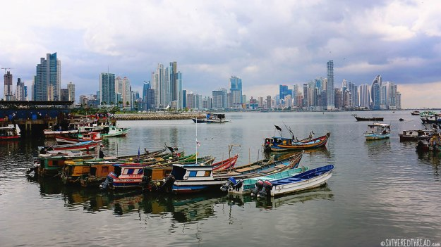 #Panama City_Skyline from the old town