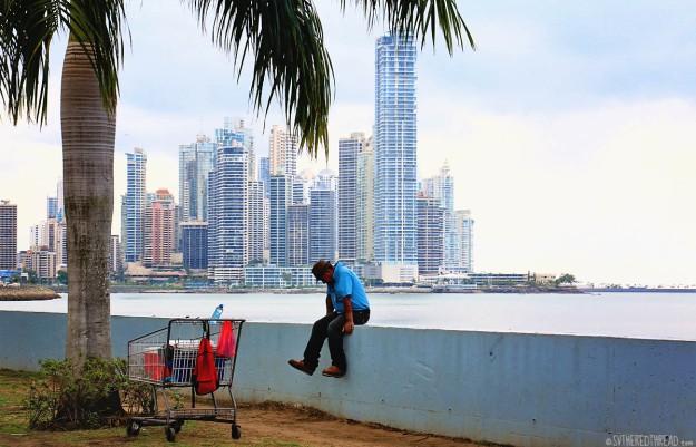 #Panama City_The path to the city
