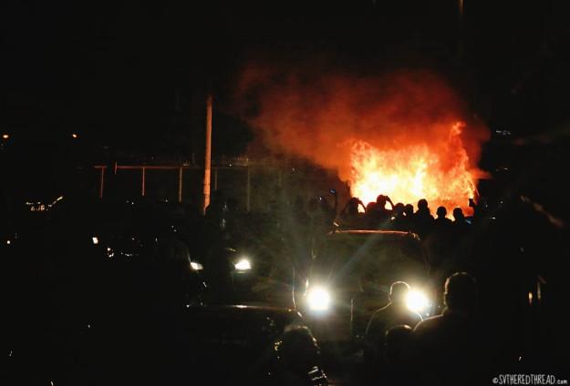 #Panama_Border fire