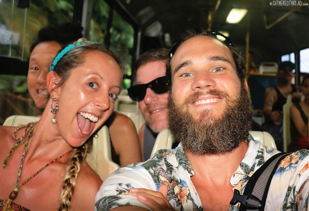 #Quepos_Ride the bus