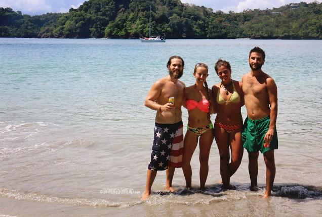 #Roca Bajo_Neil, Jessie, Emma, & Tim