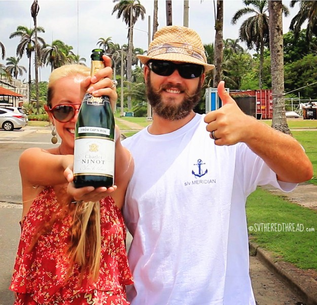 #Shelter Bay_Champagne from Cap'n Ron