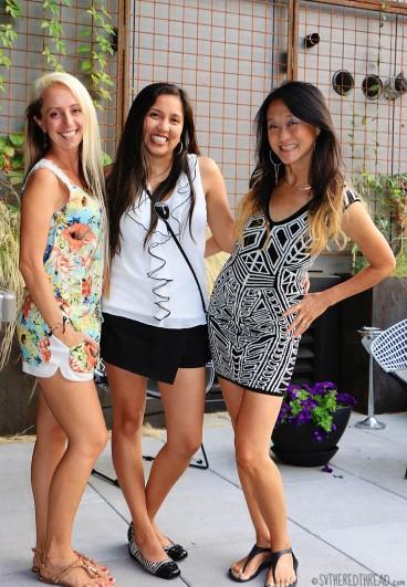 #Birthday BBQ_Claudi, Helen & me