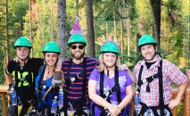 #Leavenworth_Ziplining