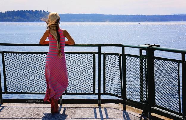 #Seattle_Ferry to Vashon