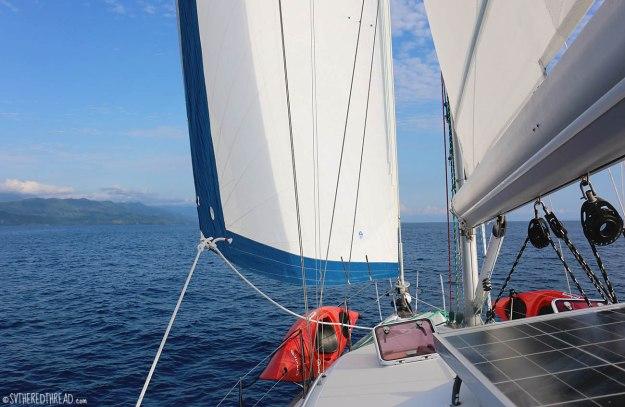 #Passage_Underway Dominicalita to Drake