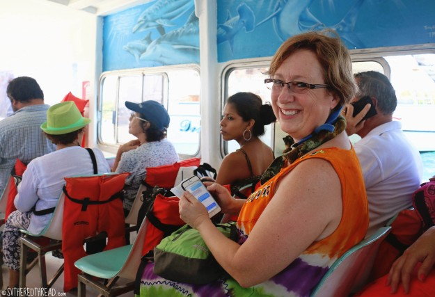 #Golfito_Puerto Jimenez water taxi w-Lori