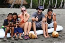 #Isla Parida, Panama_Kids and pups