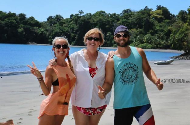#Isla Parida, Panama_Neil, Jess, & Lori