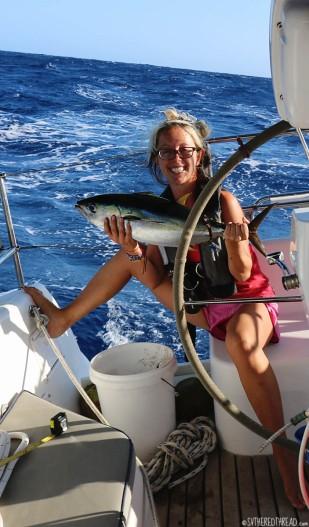 #Passage to Galapagos_Jessie + yellowfin