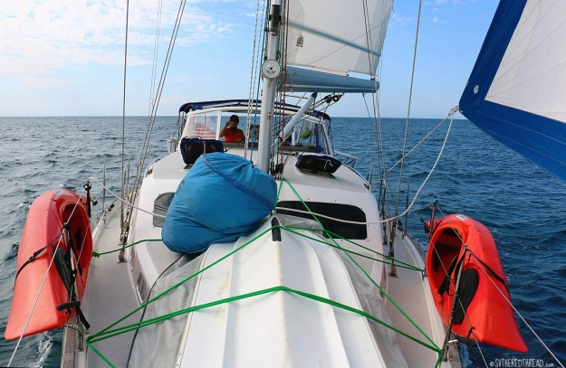 #Passage to Isla Parida_Sailing