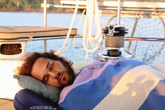 #Punta Balsa_Cockpit slumber