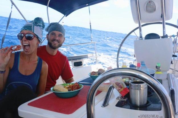 #Passage to Rapa Nui_Halfway bacon!