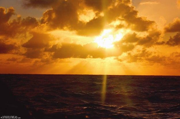 #Passage to Rapa Nui_Sunset
