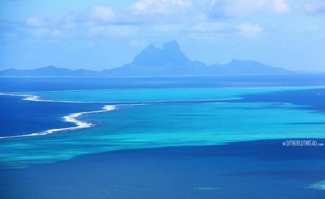#Raiatea_Bora Bora on the horizon