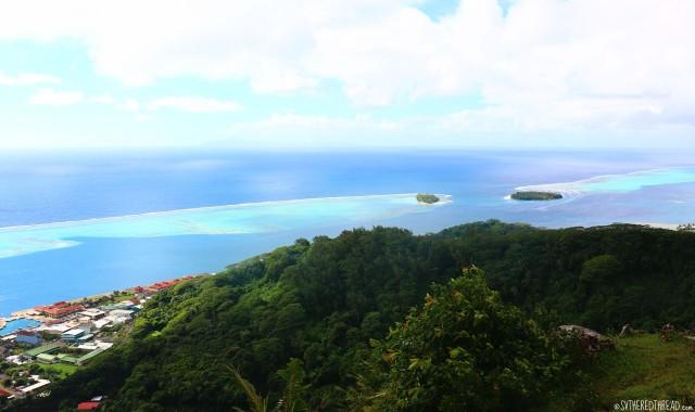 #Raiatea_Tapioi eastward vista