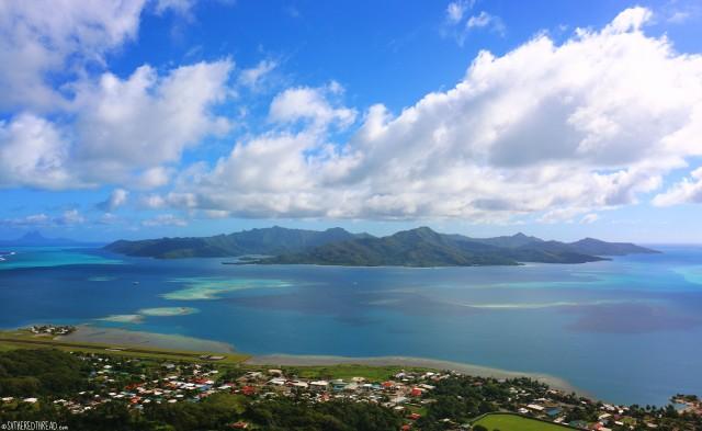 #Raiatea_Tapioi view of Tahaa