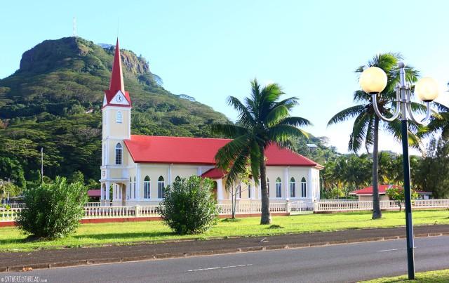 #Raiatea_Uturoa Protestant church