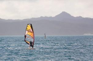 #Raiatea_Uturoa windsurfer