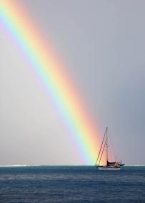 #Bora Bora Rainbow
