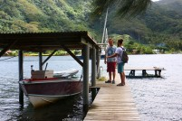 #Tahaa_Hurepeti Bay dock
