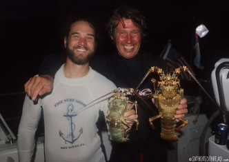 #Suwarrow_Lobster hunters2